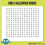 Word Search Puzzle #3 – Halloween