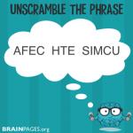 Word Scramble #1
