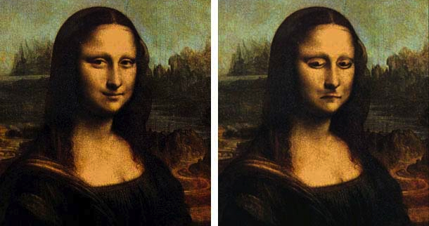 Image of Mona Lisa Illusion Solution