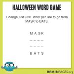 Word Games #1 – Halloween